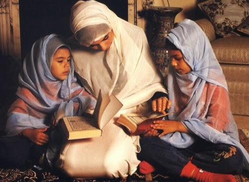 reading quran together